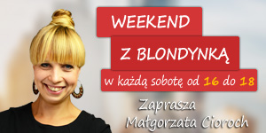 Weekend z blondynką